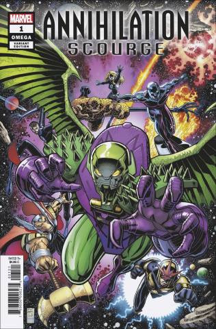 Annihilation Scourge Omega #1 (Art Adams Cover)