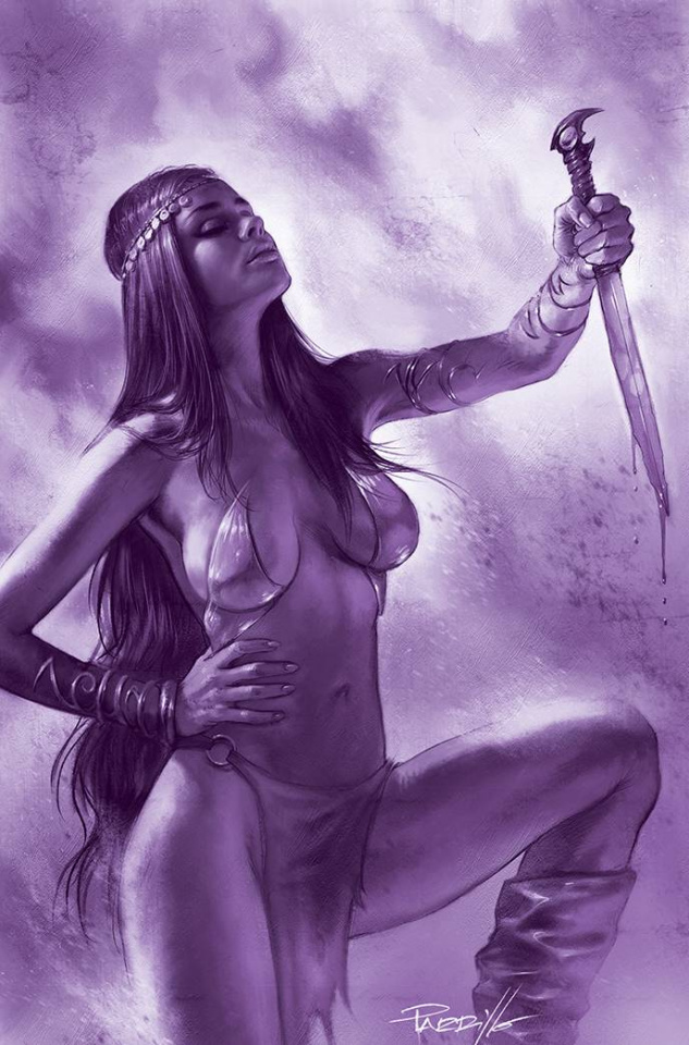Dejah Thoris #12 (25 Copy Parrillo Tint Virgin Purple Cover)
