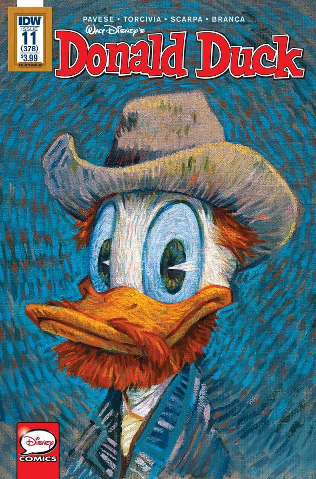 Donald Duck #12 (Art Appreciation Cover)