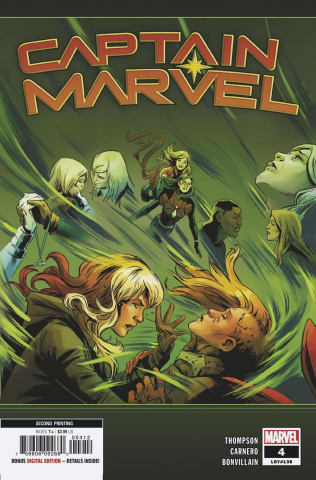 Captain Marvel #4 (Carnero 2nd Printing)