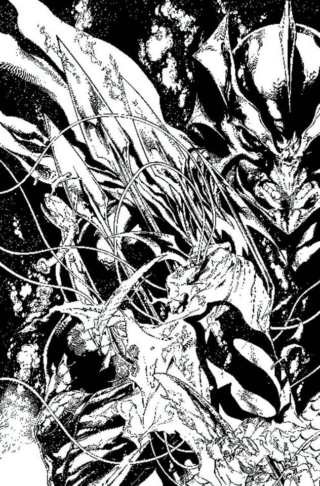 Justice League #17 (Black & White Cover)