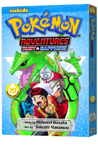 Pokémon Adventures: Ruby & Sapphire Vol. 19