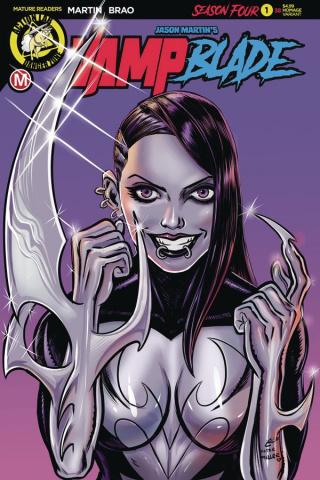 Vampblade, Season Four #1 (Garcia Cover)