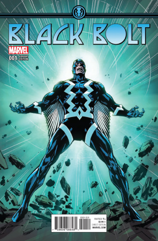 Black Bolt #1 (Variant Cover)