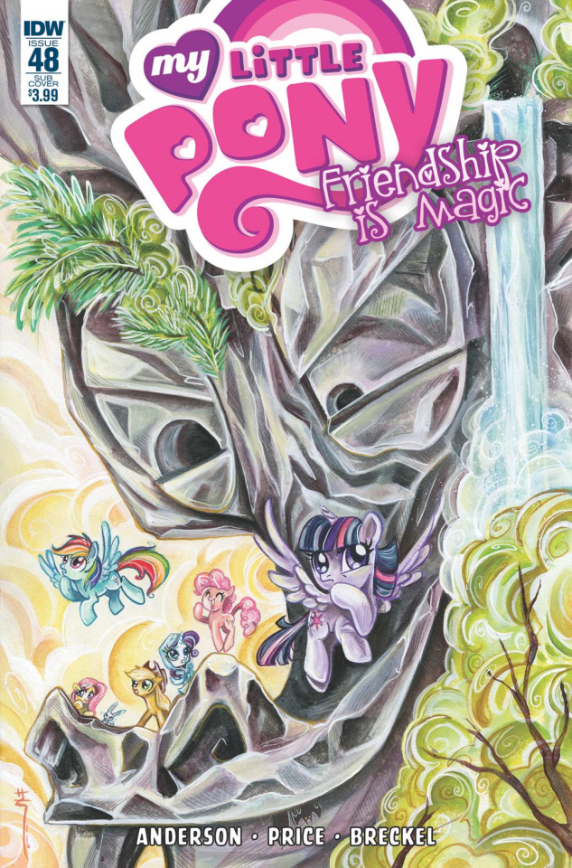My Little Pony: Friendship Is Magic #48 (Subscription Cover)