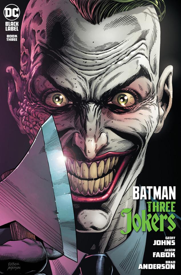 Batman: Three Jokers #3 (Premium Endgame Mohawk Cover)