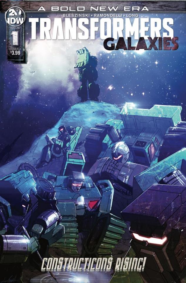 Transformers: Galaxies #1 (Ramondelli Cover)