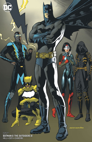 Batman and the Outsiders #8 (Variant Cover)
