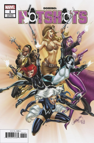 Domino: Hotshots #1 (JS Campbell Cover)