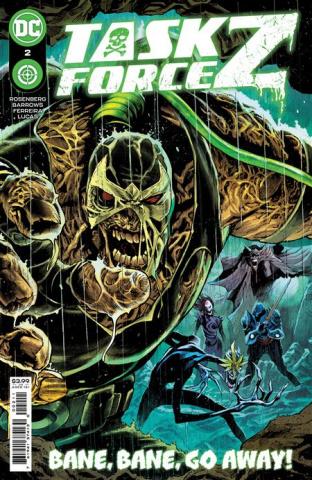 Task Force Z #2 (Eddy Barrows & Eber Ferreira Cover)