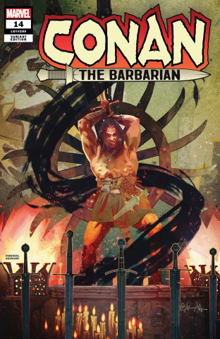 Conan the Barbarian #14 (Edwards Cover)