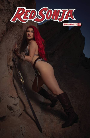 Red Sonja #27 (Cosplay Cover)