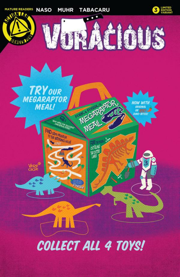 Voracious #3 (Happy Meal Cover)