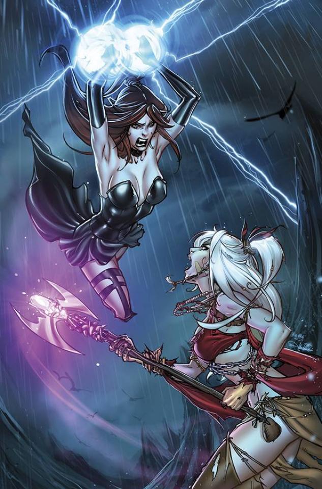 Grimm Fairy Tales: The Coven #5 (Valentino Cover)