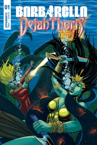 Barbarella / Dejah Thoris #1 (Feister Cover)