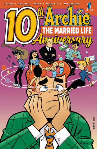 Archie: The Married Life - 10 Years Later #1 (Bone Cover)
