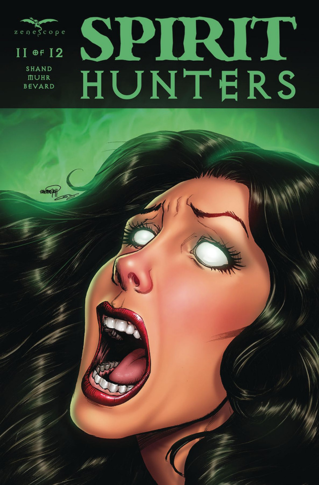 Spirit Hunters #11 (Goh Cover)