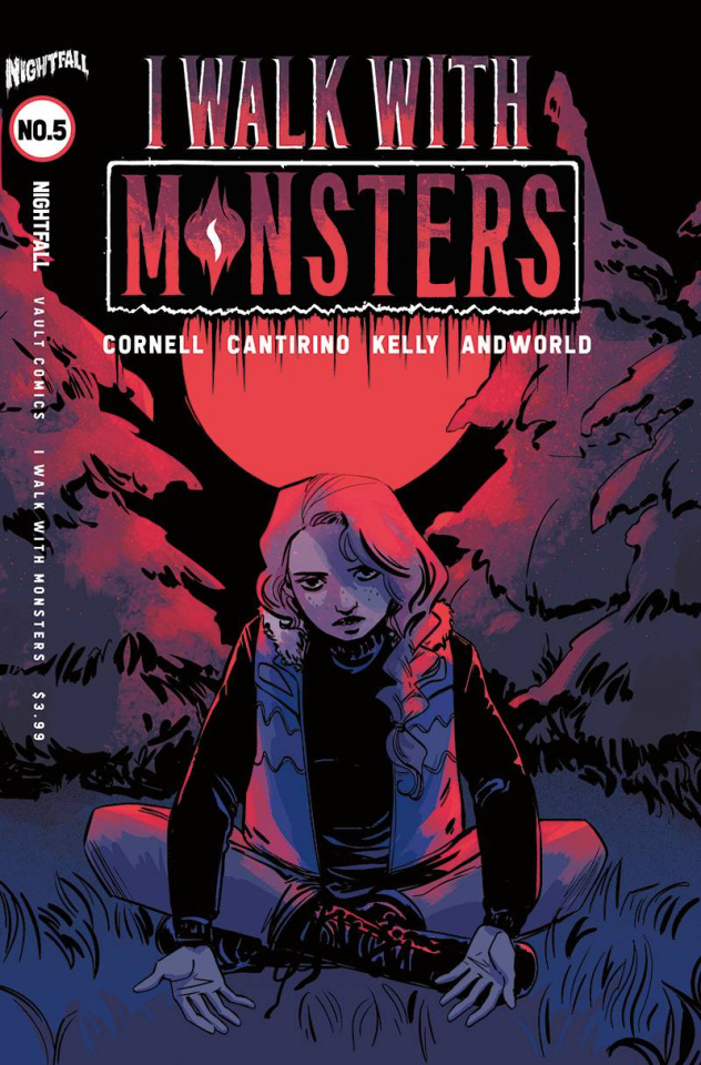 I Walk With Monsters #5 (Hickman Cover)