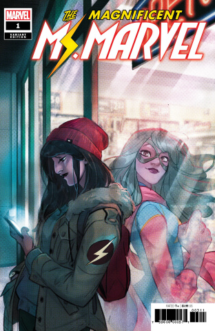 The Magnificent Ms. Marvel #1 (Tarr Cover)