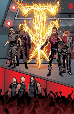 WWE #13 (Schoonover Raw Connecting Cover)