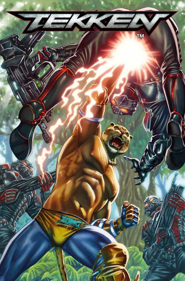 Tekken #2 (Santucci Cover)