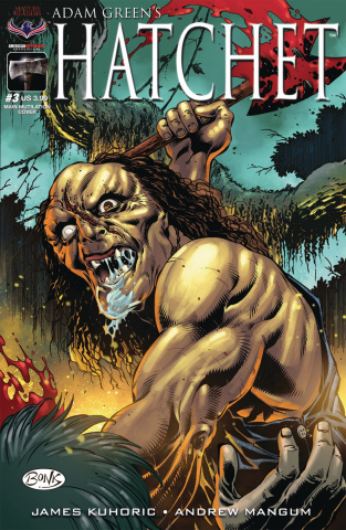 Hatchet #3 (Bonk Who Axed You Cover)