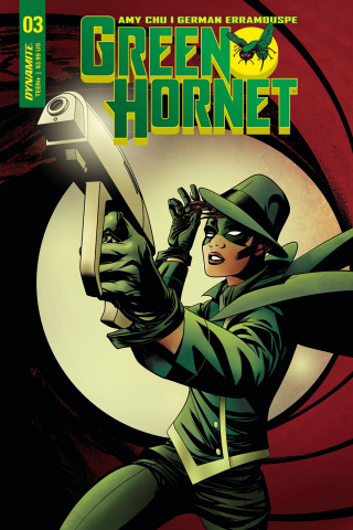 Green Hornet #3 (McKone Cover)