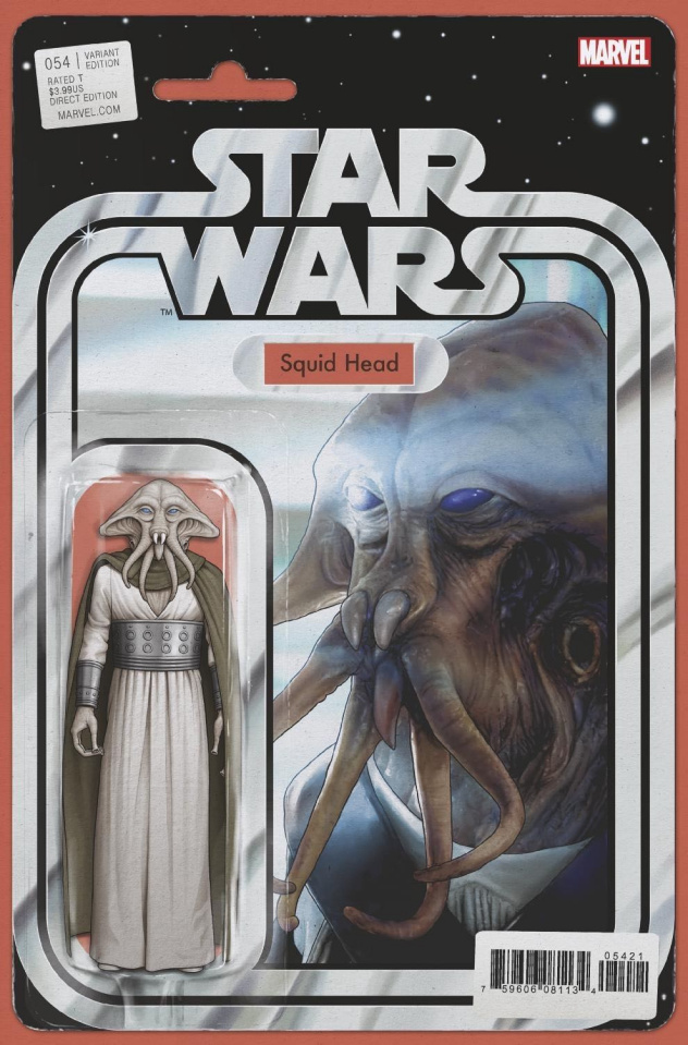 Star Wars #54 (Christopher Action Figure Cover)