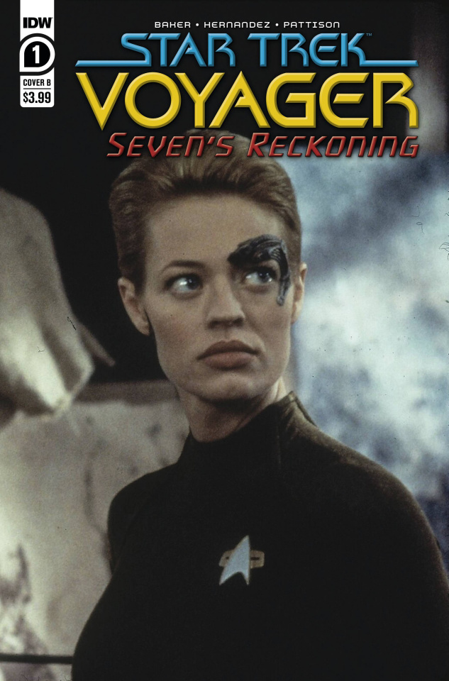 Star Trek: Voyager - Seven's Reckoning #1 (Photo Cover)