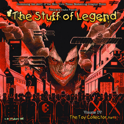 The Stuff of Legend: The Toy Collector #3