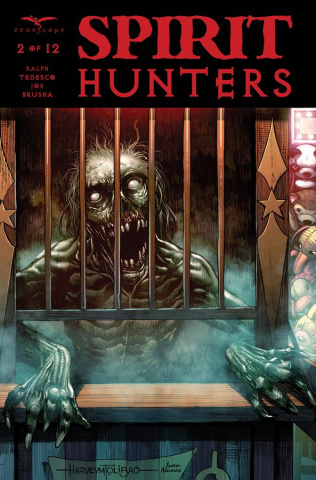 Spirit Hunters #2 (Tolibao Cover)