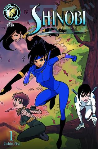 Shinobi, Ninja Princess #1