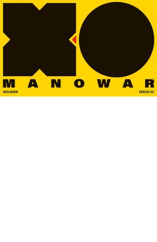 X-O Manowar #2 (Blank Cover)