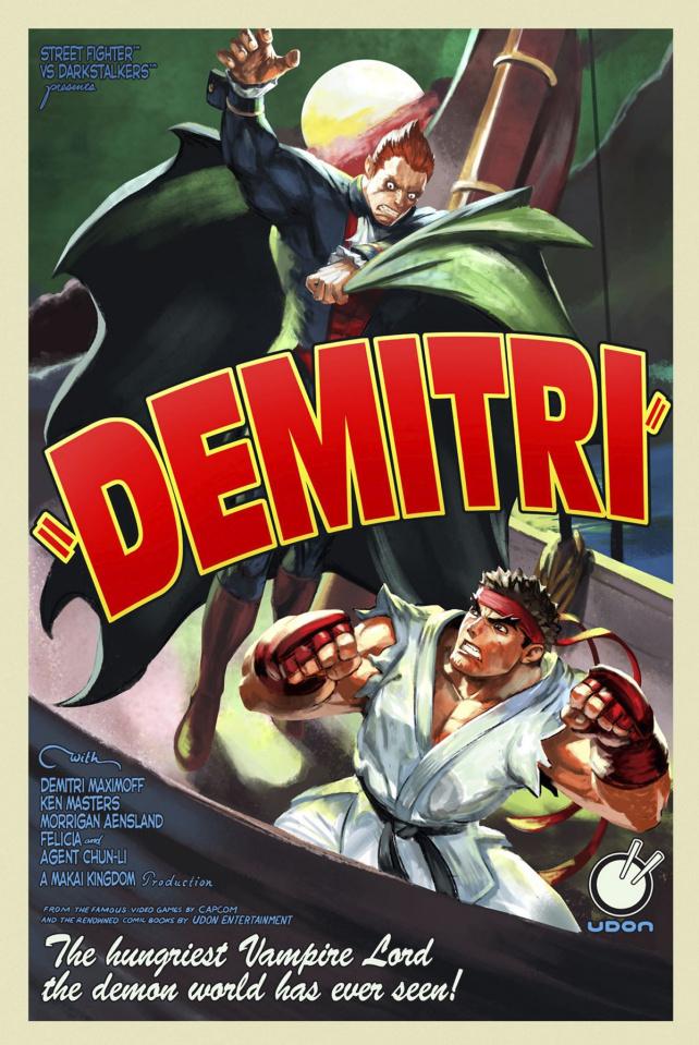 Street Fighter vs. Darkstalkers #1 (10 Copy Cover)