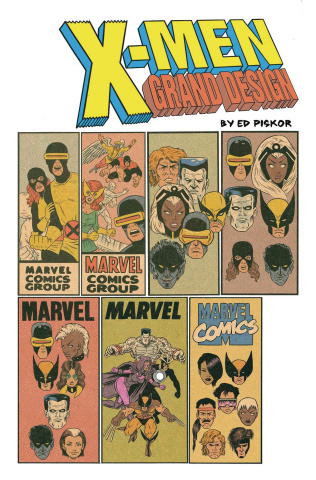 X-Men: Grand Design #1 (Piskor Corner Box Cover)