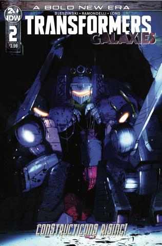Transformers: Galaxies #2 (Ramondelli Cover)