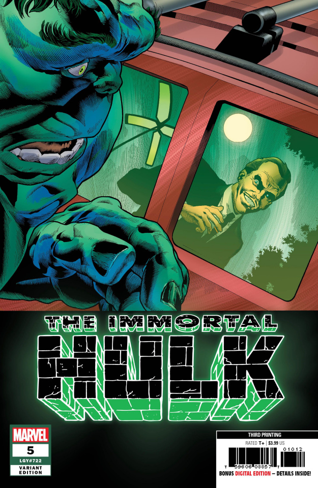 The Immortal Hulk #5 (Bennett 3rd Printing)