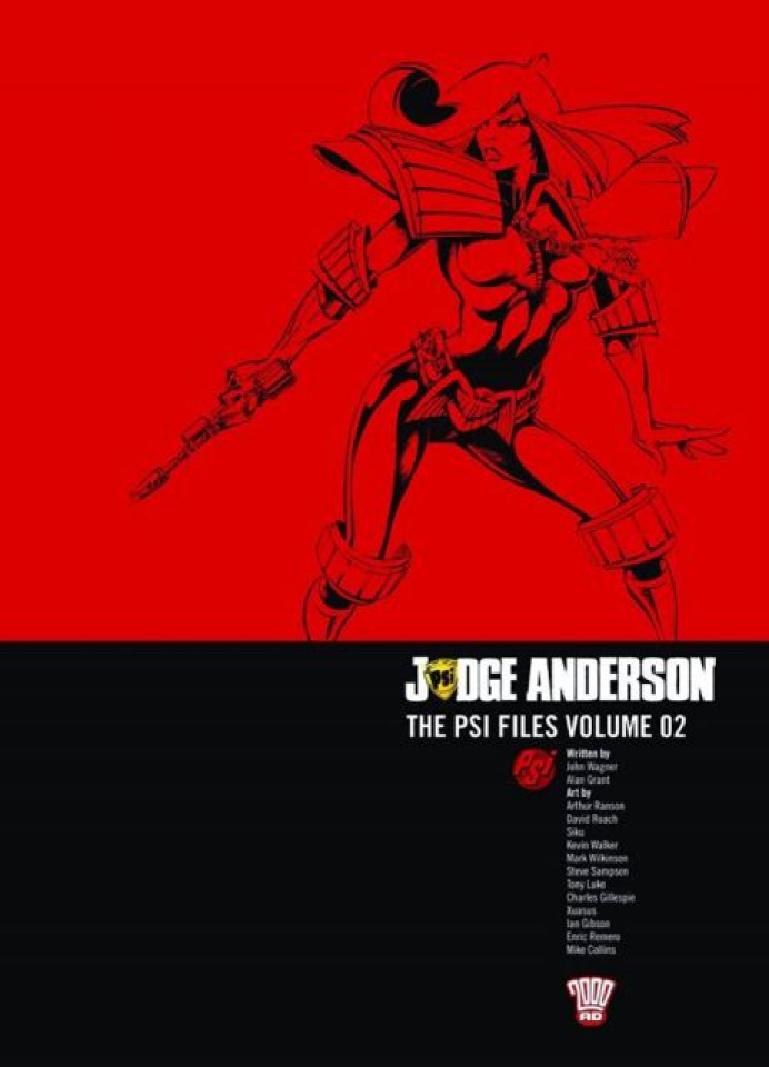 Judge Anderson: The Psi Files Vol. 2