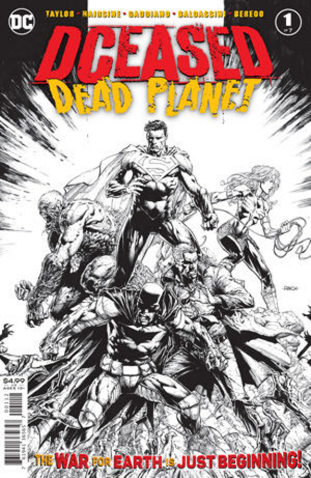 DCeased: Dead Planet #1 (David Finch B&W 2nd Printing)