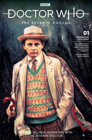 Doctor Who: The Seventh Doctor #1 (Zhang Cover)