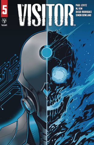 The Visitor #5 (Wijngaard Cover)