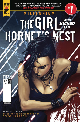 The Girl Who Kicked the Hornet's Nest #1 (Iannicello Cover)