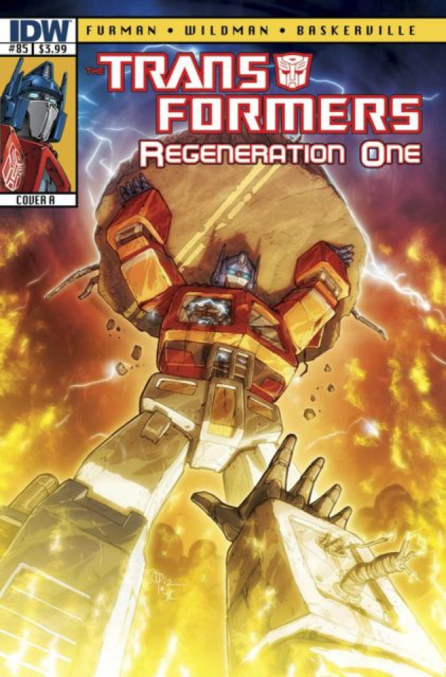 The Transformers: Regeneration One #85