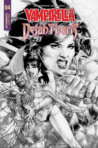 Vampirella / Dejah Thoris #5 (20 Copy Anacleto B&W Cover)