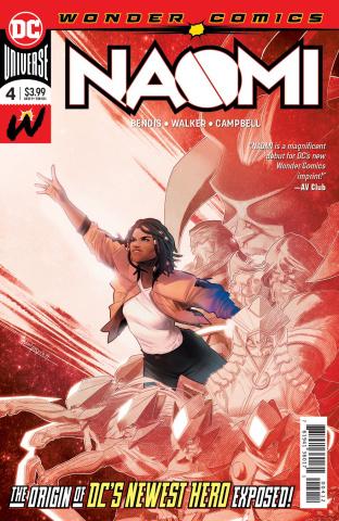 Naomi #4 (2nd Printing)