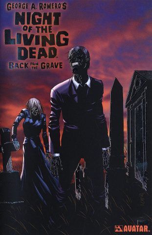Night of the Living: Dead Back From the Grave (Platinum Foil Cover)
