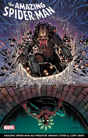 The Amazing Spider-Man #65 (Smith Predator Cover)
