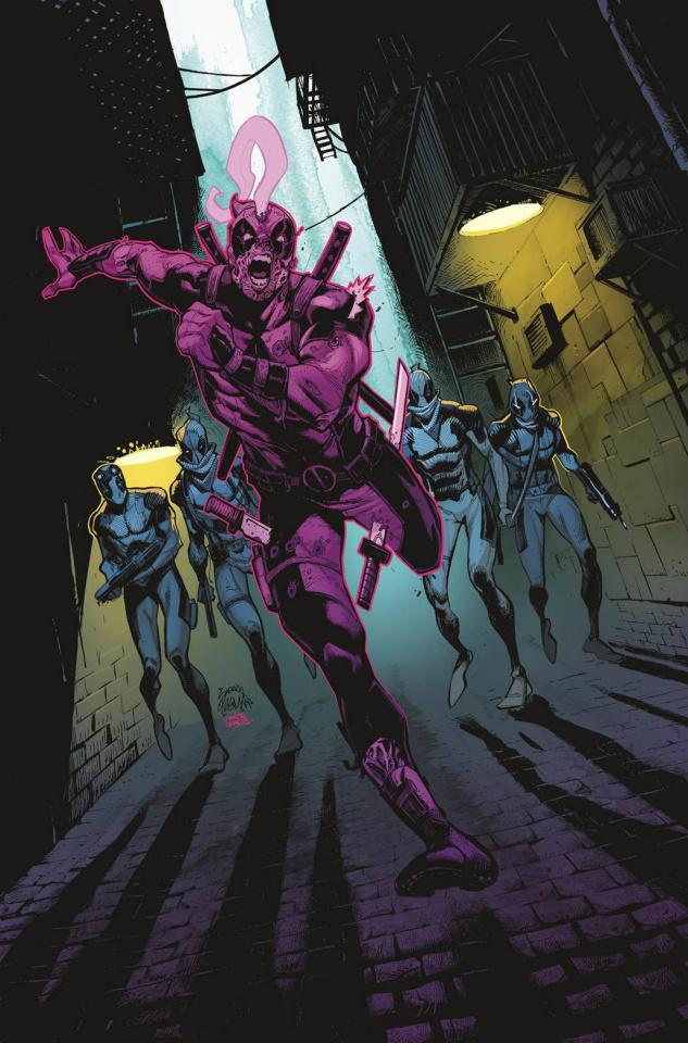 Return of the Living Deadpool #1 (Stegman Cover)