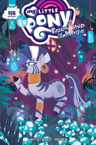 My Little Pony: Friendship Is Magic #89 (10 Copy Justasut Cover)