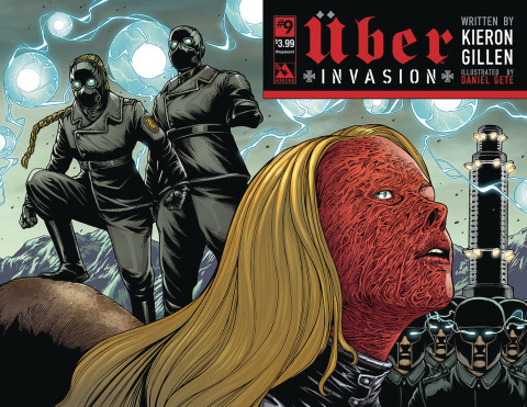 Über: Invasion #9 (Wrap Cover)